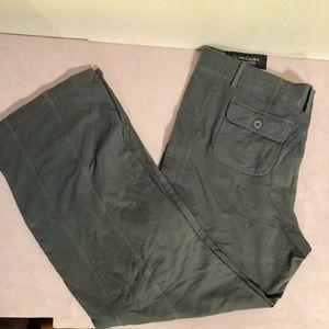 Plus Faded Glory Cargo Organic Cotton Sweat Pant